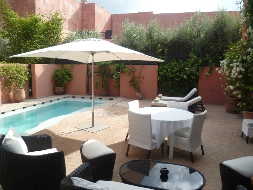 Villa style Riad d'exception vendu meublé