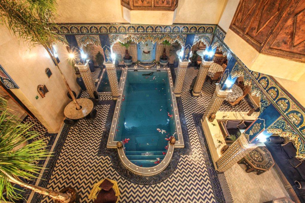Maison d'Hôtes à Vendre en plein cœur de la Médina de Marrakech
