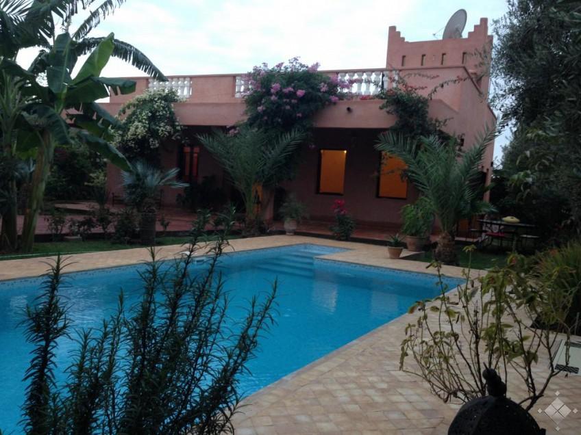 Villa Route de Fès -Marrakech-