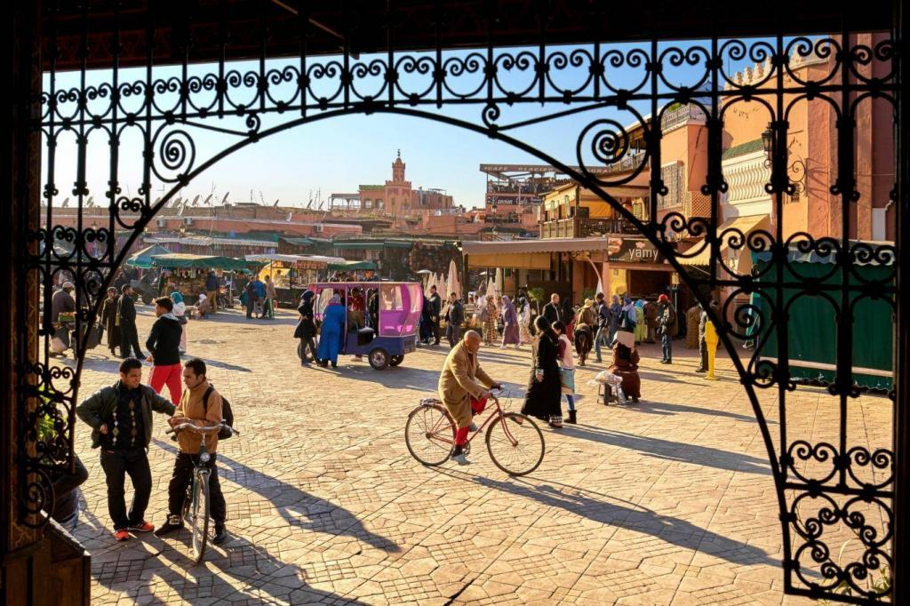Morocco's back:the magic of Marrakech is just three hours away with new Heathrow flights and riad-style homes from £265k