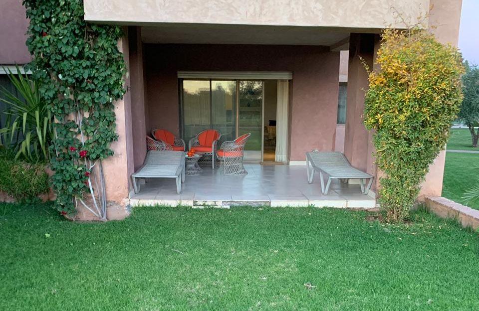 Appartement 3 chambres meublé- Résidence Golfique