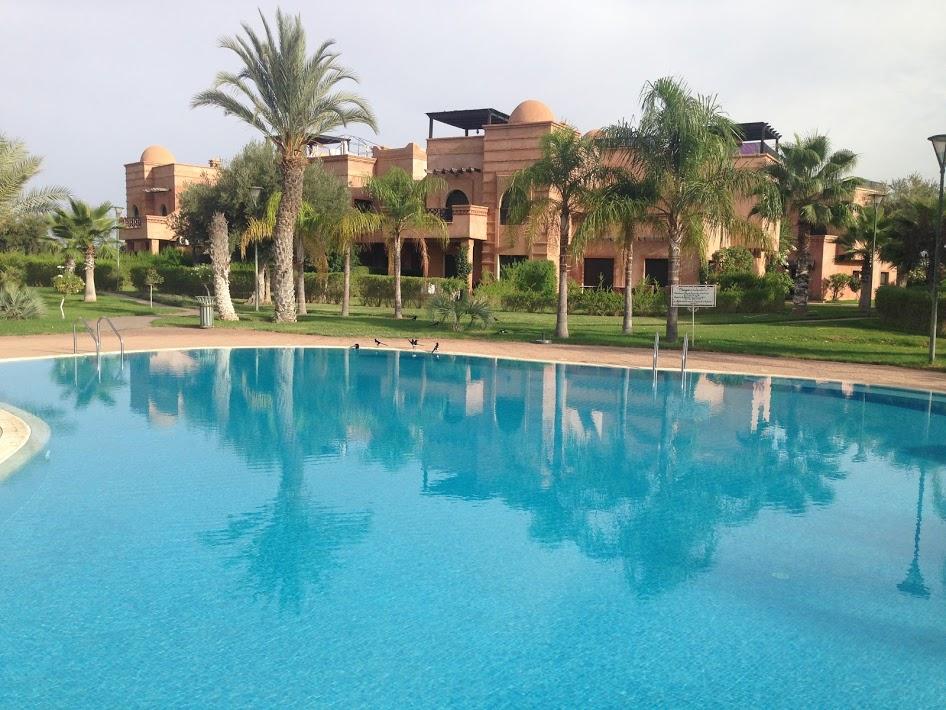 DUPLEX A VENDRE - RESIDENCE GOLFIQUE Marrakech
