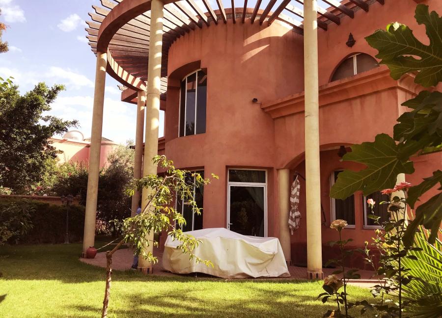 Villa meublée 4 chambres à 5 minutes du centre de Marrakech