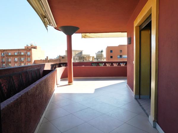 Magnifique Appartement Terrasse à LOUER – Gueliz