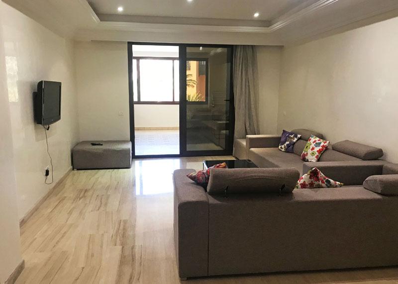 Appartement 2 chambres SEMLALIA Meublé