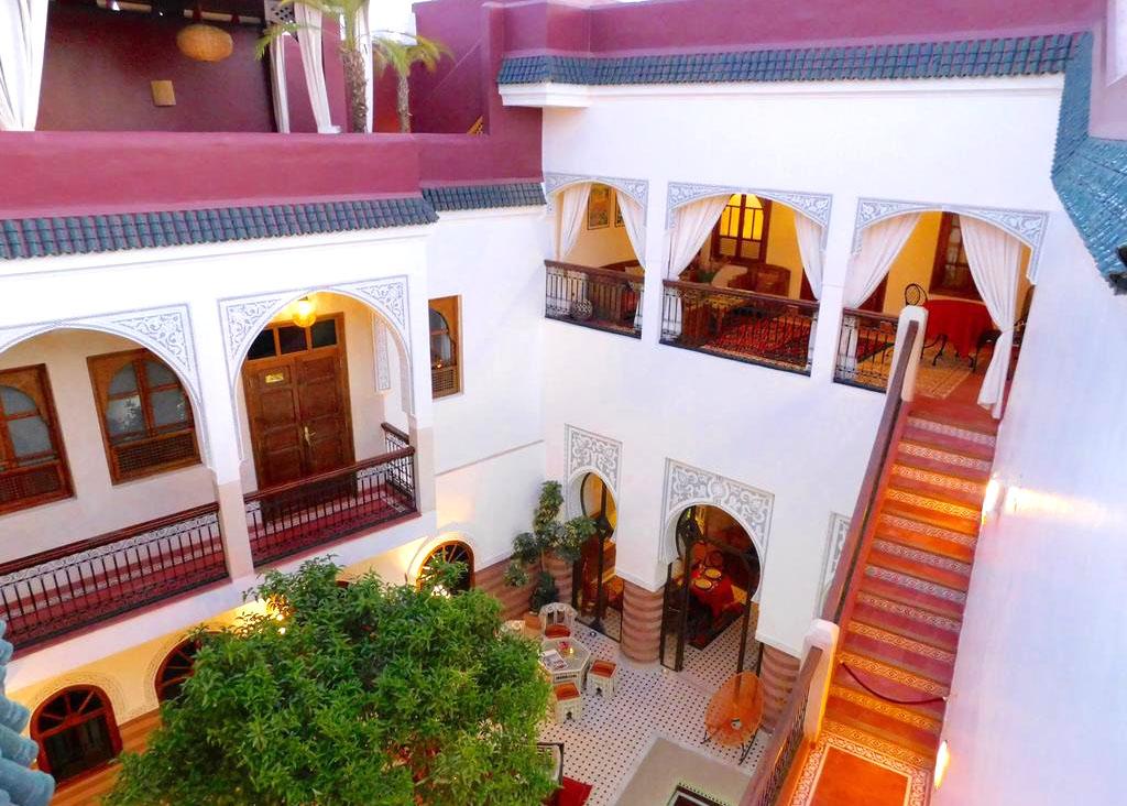 RIAD a vendre à MARRAKECH en MEDINA - 9 chambres - Quartier Kasbah