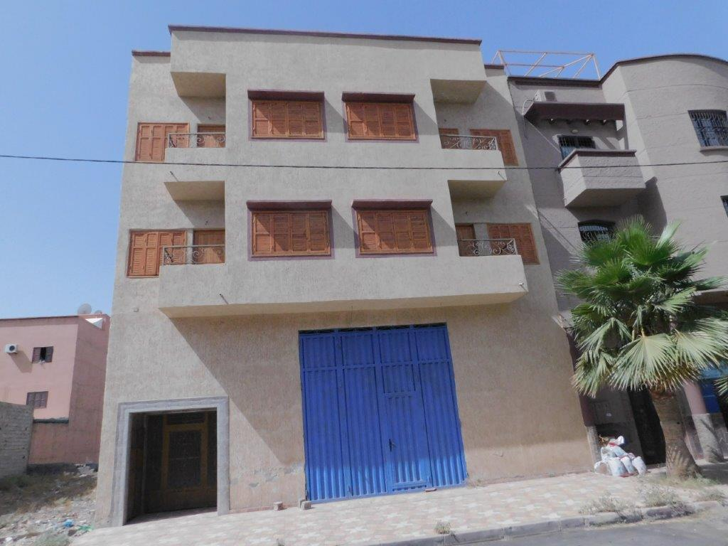 VENTE IMMEUBLE R+2-ZONE INDUSTRIELLE-MARRAKECH