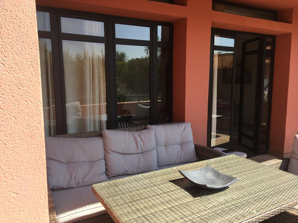 TRES BEL APPARTEMENT A LA LOCATION – PROCHE AMELKIS-MARRAKECH