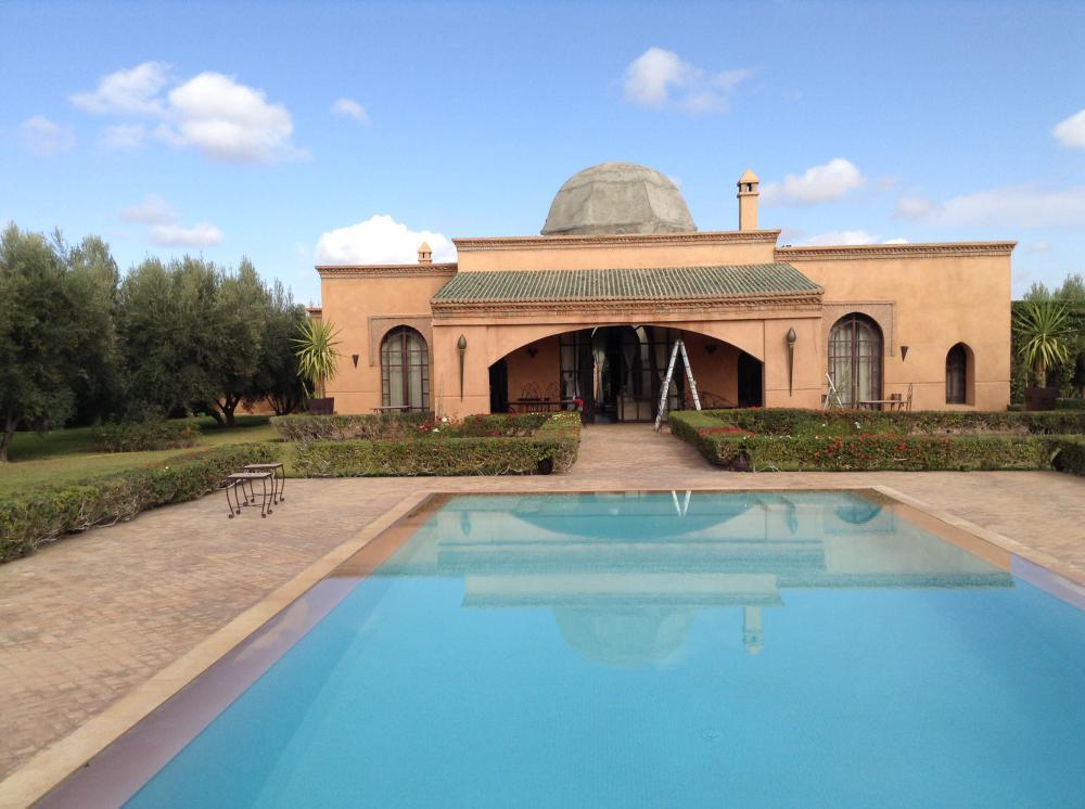 Villa Route Ourika à vendre Marrakech