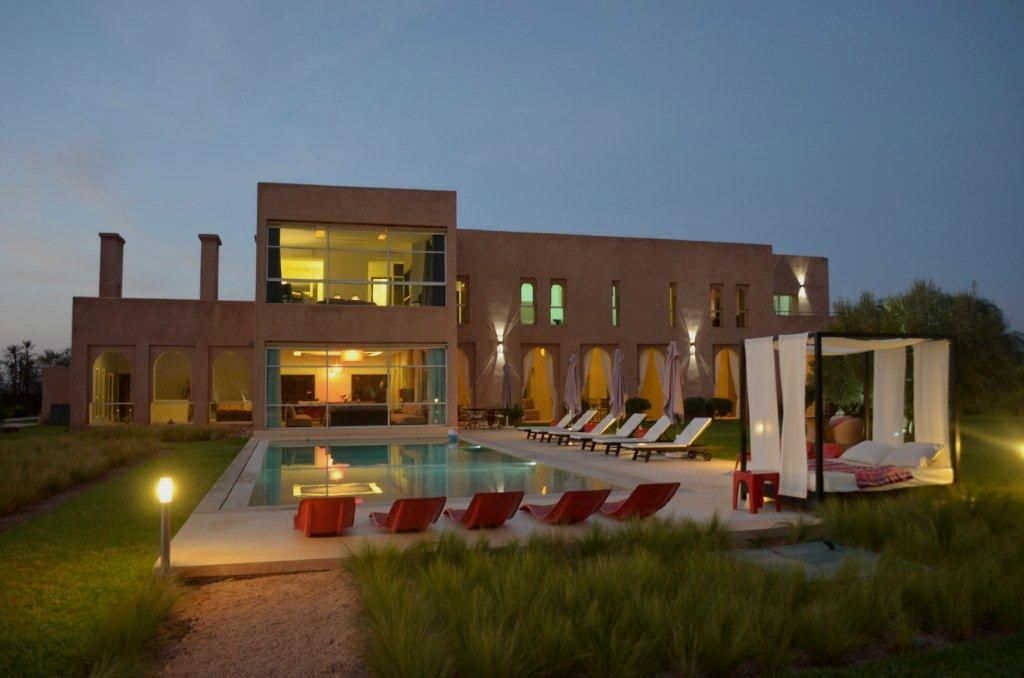 Beautiful contemporary villa Bab Atlas Marrakech