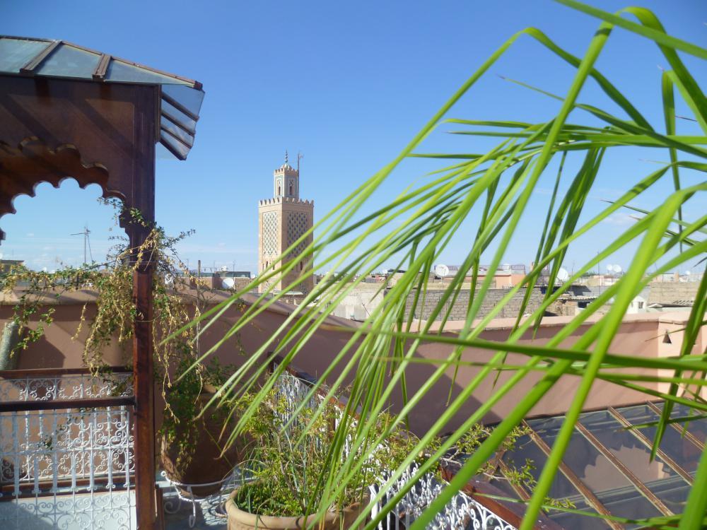 Tres beau Riad fraichement et magnifiquement rénové quartier ben salah